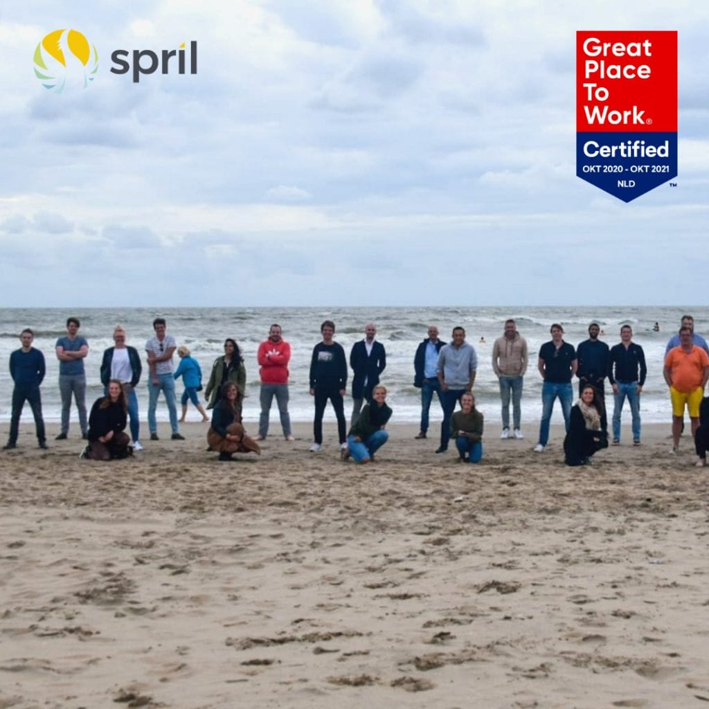 Image for Leek, 12 november 2020 – Spril is opnieuw Great Place to Work Certified!